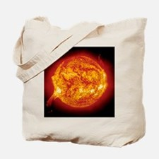 Solar prominence Tote Bag