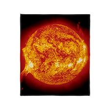 Solar prominence Throw Blanket