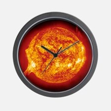 Solar prominence Wall Clock