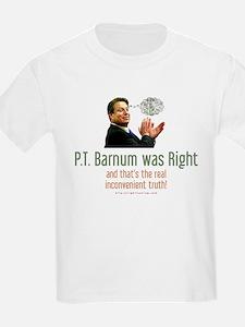 P.T. Barnum Al Gore Kids T-Shirt