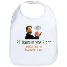 P.T. Barnum Al Gore Bib