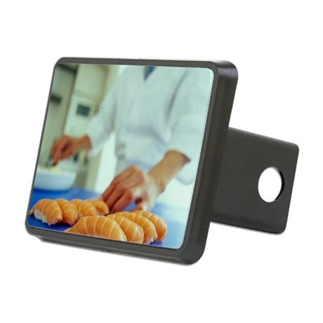 Sushi preparation Rectangular Hitch Cover