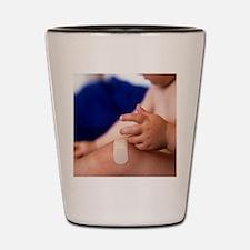 Sore knee Shot Glass