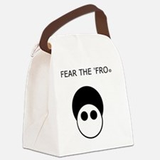 Fear the 'Fro Canvas Lunch Bag