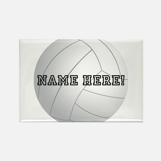 Personalized Volleyball Player Magnets