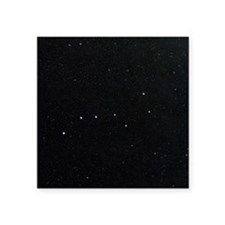 "The Plough in Ursa Major, o Square Sticker 3"" x 3"""