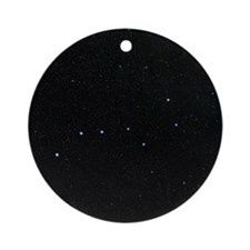 The Plough in Ursa Major, optical i Round Ornament