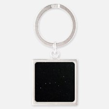 The Plough in Ursa Major, optical  Square Keychain