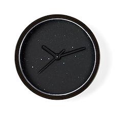 The Plough in Ursa Major, optical image Wall Clock