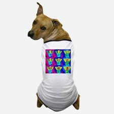 Thermograms of a man sunbathing Dog T-Shirt