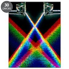 Light through prisms Puzzle