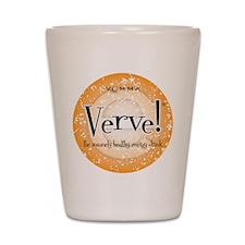 Verve Energy Drink Shot Glass