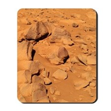 Toltecs, volcanic rocks, Mars Mousepad
