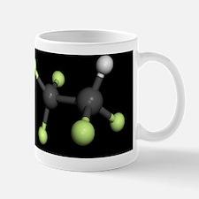 Pentafluoroethane molecule Mug