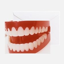 Toy teeth Greeting Card