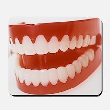 Toy teeth Mousepad