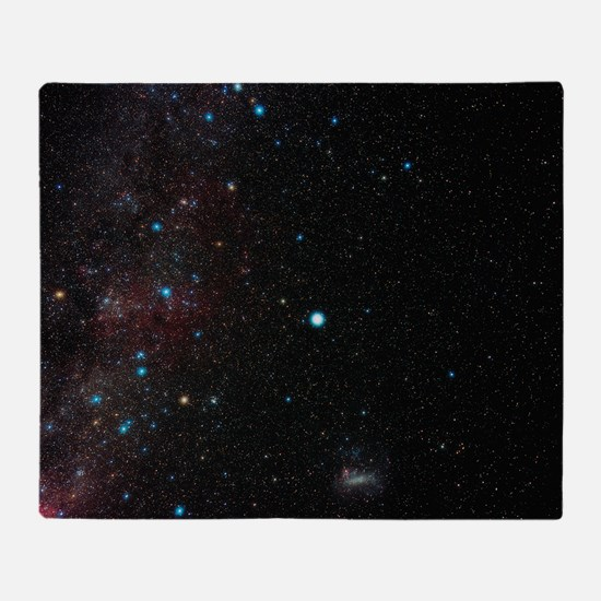 Southern Milky Way Throw Blanket