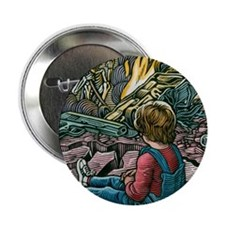 """The perils of life 2.25"""" Button"""