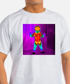 Thermogram of a baby T-Shirt