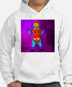 Thermogram of a baby Hoodie