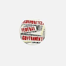 Decorporatize Federal Government Mini Button