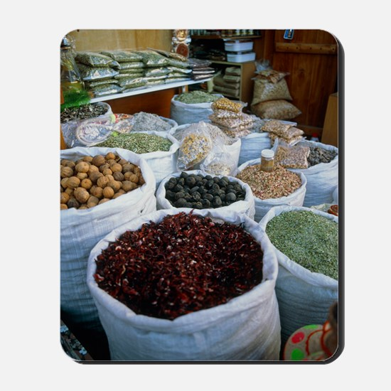 Spice market Mousepad