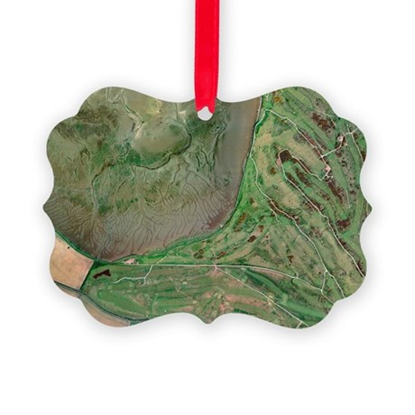 St Andrews golf course, UK Picture Ornament