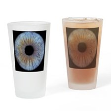 The iris of the eye Drinking Glass