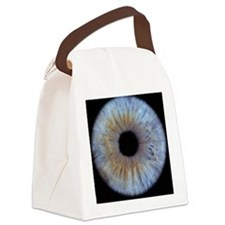 The iris of the eye Canvas Lunch Bag