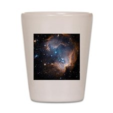 Starbirth region NGC 602 Shot Glass