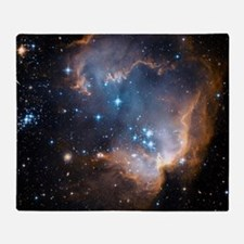 Starbirth region NGC 602 Throw Blanket