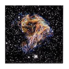 Supernova remnant LMC N 49 Tile Coaster
