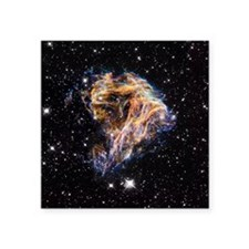"Supernova remnant LMC N 49 Square Sticker 3"" x 3"""