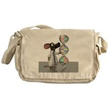 Dna Canvas Messenger Bags