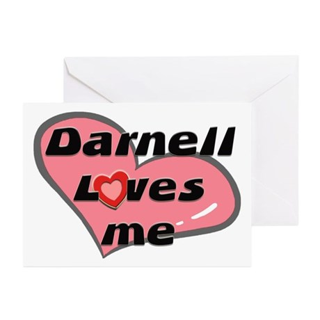 darnell loves me Greeting Cards (Pk of 10)