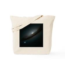Supernova in galaxy Tote Bag