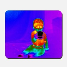 Thermogram of a baby Mousepad