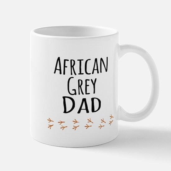 African Grey Dad Mugs