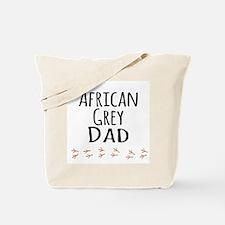 African Grey Dad Tote Bag
