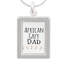 African Grey Dad Necklaces