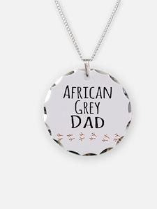 African Grey Dad Necklace