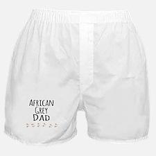 African Grey Dad Boxer Shorts