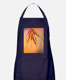 View of several acupuncture needles Apron (dark)
