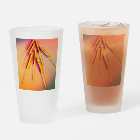 View of several acupuncture needles Drinking Glass