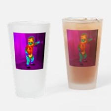 Thermogram of a baby Drinking Glass