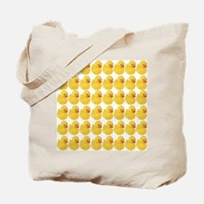 Rubber Duck Pattern Tote Bag