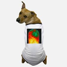 Thermogram of a human finger Dog T-Shirt