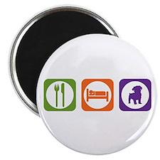 Eat Sleep Schnoodle Magnet