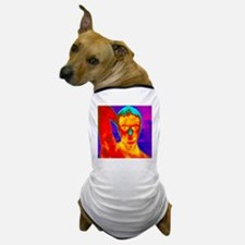 Thermogram of a man's head and shoulde Dog T-Shirt