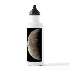 Waning crescent Moon Water Bottle